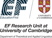 EF Cambridge English learning research collaboration logo
